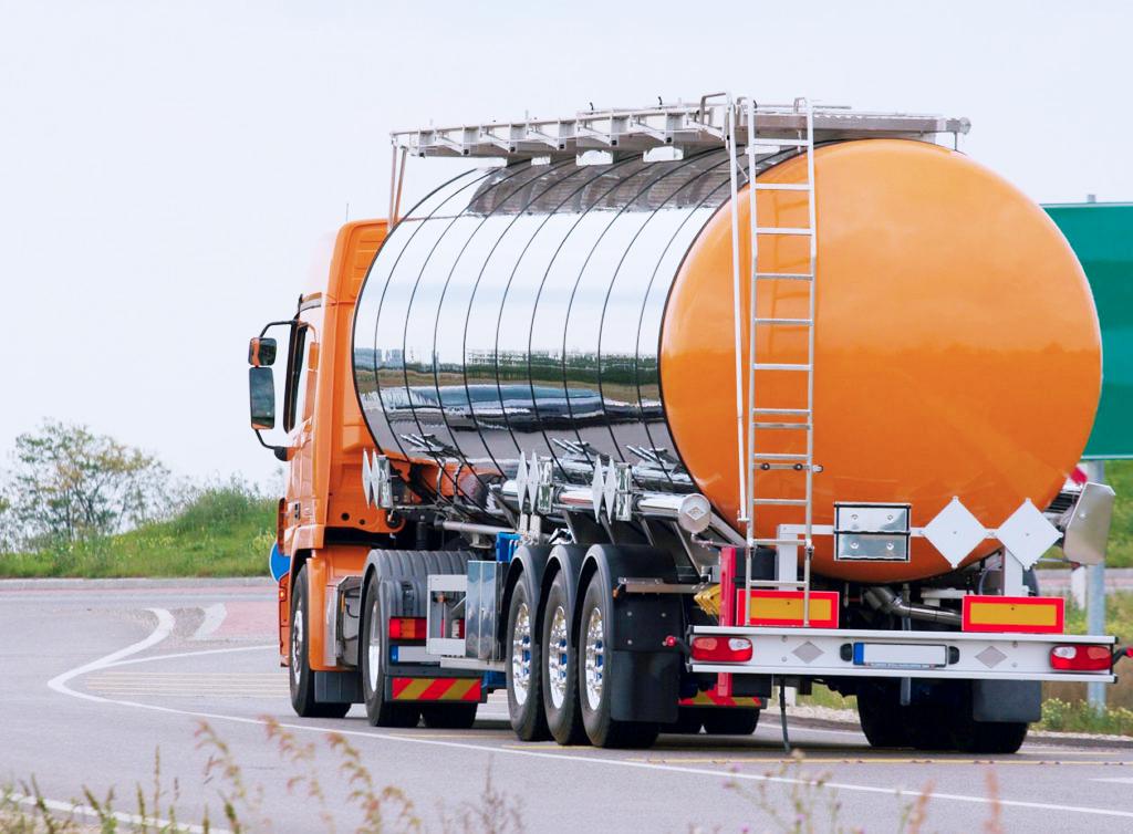 первозка легковоспламеняющихся грузов